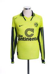 1996-97 Borussia Dortmund Home Shirt L/S L