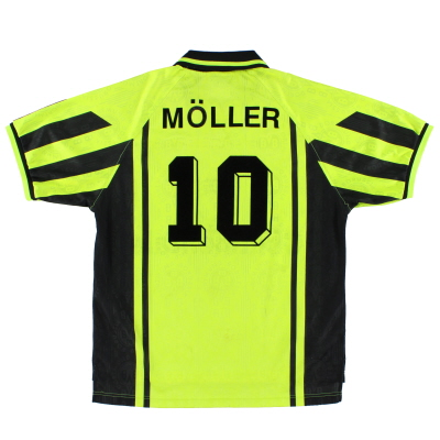 1996-97 Borussia Dortmund Home Shirt Moller #10 L