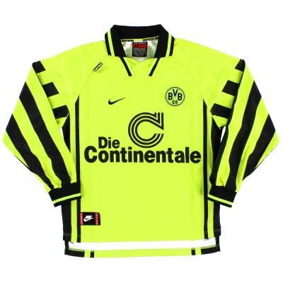 1996-97 Borussia Dortmund Home Shirt L/S S