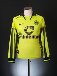 1996-97 Borussia Dortmund Home Shirt L/S XL