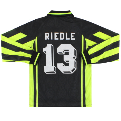 1996-97 Borussia Dortmund Nike Away Shirt Riedle #13 L/S XS