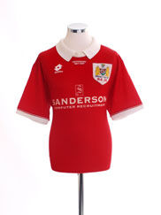 1996-97 Bristol City Centenary Home Shirt L