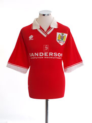 Retro Bristol City Shirt