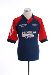 1996-97 Cagliari Reebok Training Shirt L