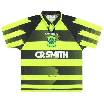 1996-97 Celtic Umbro Away Shirt XL