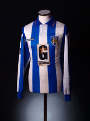 1996-97 Colchester United Match Worn Shirt #8 (Gregory) XL