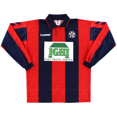 1996-97 Cosenza Home Shirt #20 L/S XL