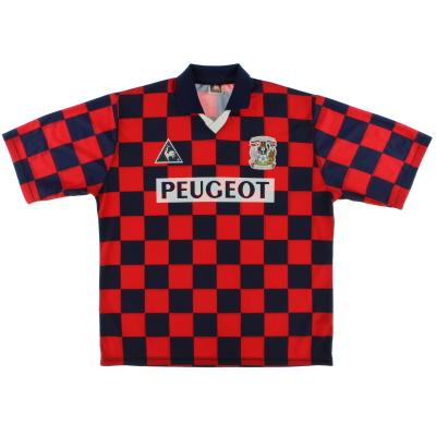 1996-97 Coventry Le Coq Sportif Away Shirt XL