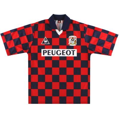 1996-97 Coventry Le Coq Sportif Away Shirt L