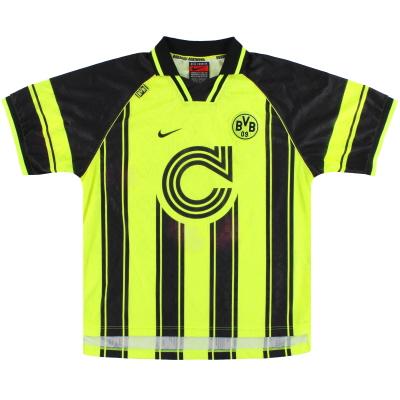1996-97 Dortmund Nike CL Home Shirt XL