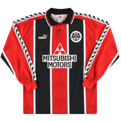 1996-97 Eintracht Frankfurt Puma Home Shirt L/S M