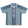 1996-97 England Away Shirt Beckham #7 M