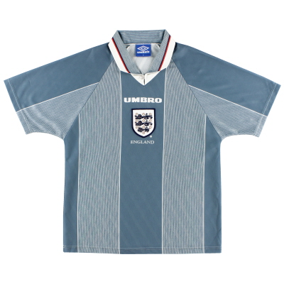 1996-97 England Away Shirt L.Boys