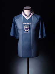 1996-97 England Away Shirt Y
