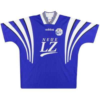 1996-97 FC Luzern adidas Home Shirt XL
