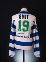 1996-97 FC Zwolle Player Issue Home Shirt Smit #19 L/S XXL