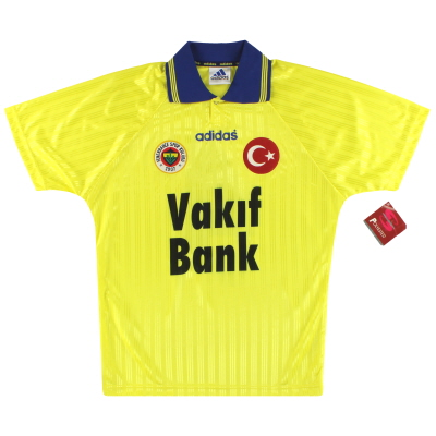 1996-97 Fenerbahce adidas Away Shirt #4 *w/tags* L