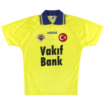 1996-97 Fenerbahce adidas Away Shirt #4 *As New* L