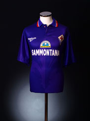 1996-97 Fiorentina Home Shirt XL