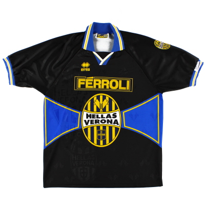 1996-97 Hellas Verona Third Shirt XXL