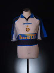 1996-97 Inter Milan Away Shirt *As New* L