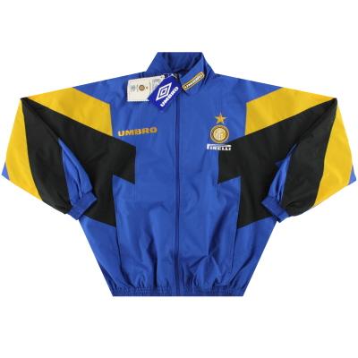1996-97 Inter Milan Umbro Track Jacket *w/tags* L