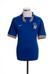 1996-97 Italy Home Shirt L.Boys
