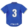 1996-97 Italy Nike Match Issue Home Shirt #3 M