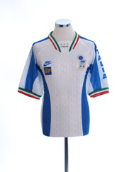 1996-97 Italy Player Issue Away Shirt *Mint* L