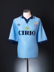 1996-97 Lazio Home Shirt *Mint* XXL
