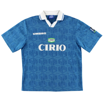 1996-97 Lazio Player Issue Umbro Training Shirt XL
