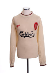 1996-97 Liverpool Away Shirt L/S XL