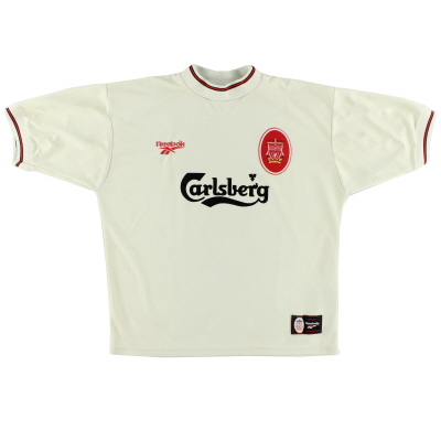1996-97 Liverpool Reebok Away Shirt L