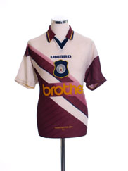 1996-97 Manchester City Away Shirt XL