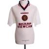 1996-97 Manchester United Away Shirt Cantona #7 M
