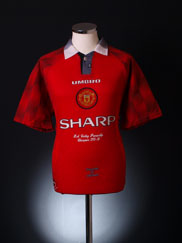 1996-97 Manchester United 'Champions' Home Shirt XL
