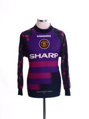 1996-97 Manchester United Goalkeeper Shirt L.Boys