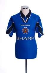 1996-97 Manchester United Third Shirt L