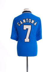 1996-97 Manchester United Third Shirt Cantona #7 XL