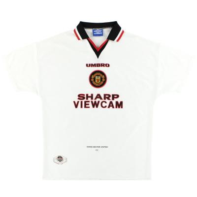 1996-97 Manchester United Umbro Away Shirt XL