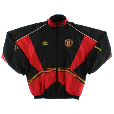 1996-97 Manchester United Umbro Rain Jacket L