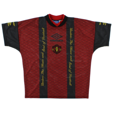 1996-97 Manchester United Umbro Training Shirt L