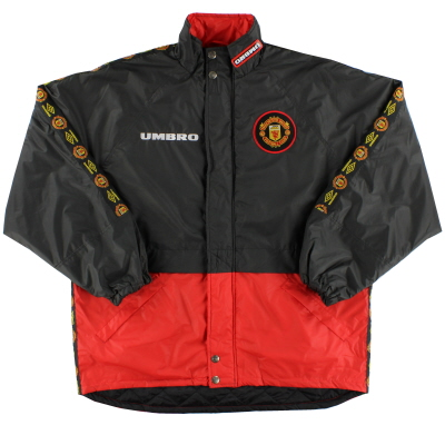 1996-97 Manchester United Umbro Padded Training Jacket L