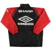 1996-97 Manchester United Umbro Rain Jacket M
