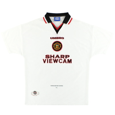 1996-97 Manchester United Umbro Away Shirt XXL