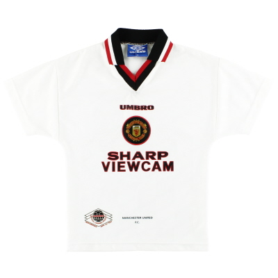 1996-97 Manchester United Umbro Away Shirt Y