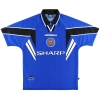 1996-97 Manchester United Umbro Third Shirt Scholes #18 M