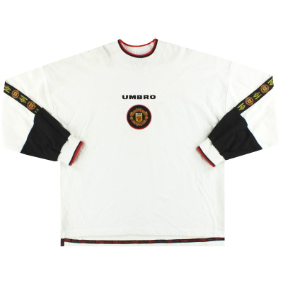1996-97 Manchester United Umbro Sweatshirt XL