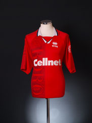 1996-97 Middlesbrough Home Shirt L