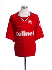 1996-97 Middlesbrough Home Shirt XXL
